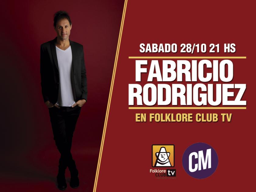 Fabricio Rodriguez en Folklore Club Tv