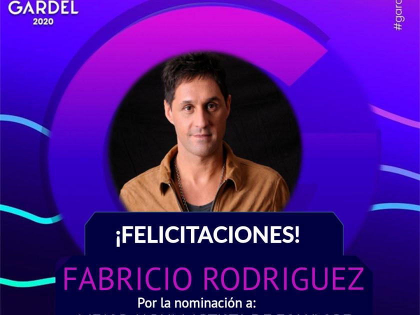Fabricio Rodriguez en los Gardel!